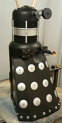 Dalek Steel Log Burner / Chimenea / Patio Heater / Dr Who