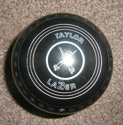 A GREAT SET TAYLOR LAZER  BOWLS Size 4 Heavy Year 2016  Excellent Condition **