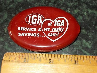 Vintage IGA Grocery Coin Purse