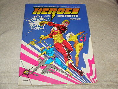 HEROES UNLIMITED Revised Edition SC 1991 By Kevin Siembieda