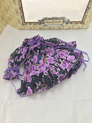 Picking up the Pieces DRESS - Tonner Ellowyne Wilde doll fashion - purple floral
