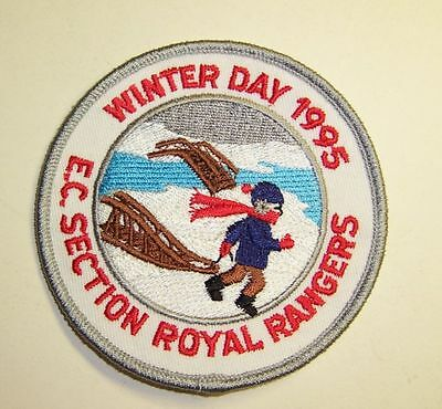 Winter Day 1995 EC Section Royal Rangers Patch - #2351