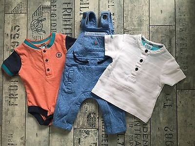 Baby Boy Ted Baker Outfit Bundle Size 0-3