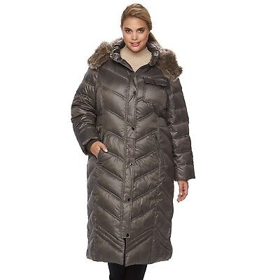 9a3b38340 PLUS SIZE APT 9 Hooded Quilted Puffer Jacket, 3X, NWT. Retail $220 ...