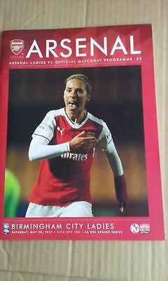 arsenal ladies v birmingham city ladies 20/05/2017