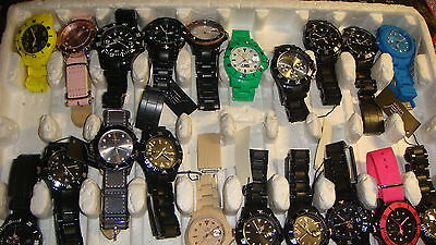 Trade Only Job Lot Of 20 X  Mixed  Ltd  Watches 100% Gen .</