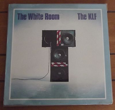 KLF - the white room - transistor music - african import - STILL SEALED 1991 LP