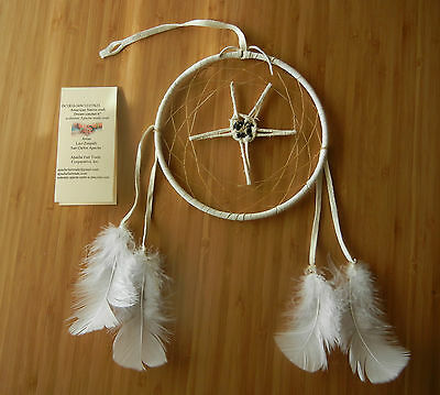 "authenic Apache craft star dream catcher 6"" 623"