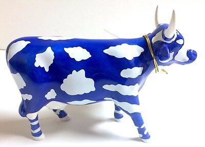 Westland Cow Parade Sky Cow 2000 Retired Figurine