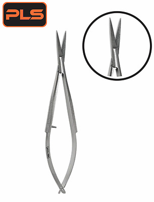 Ciseaux Acier Inoxydable Spring Scissor Sharp Straight Edge for Nail Using