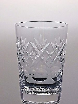 Royal Doulton Crystal Georgian Cut Glass Tumbler