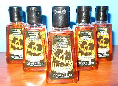 Pumpkin Pocketbac Hand Sanitizers X4  Bath & Body Works NEW