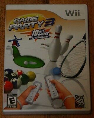 Game Party 3 Nintendo Wii (19 Games)