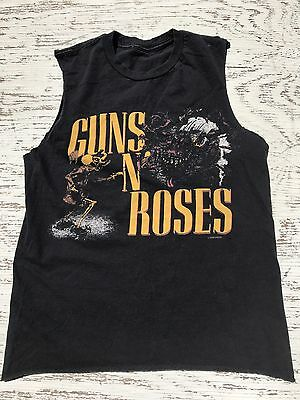 Guns N Roses 1987 BANNED Concert Tour Reproduction Shirt MENS SMALL WOMENS MED