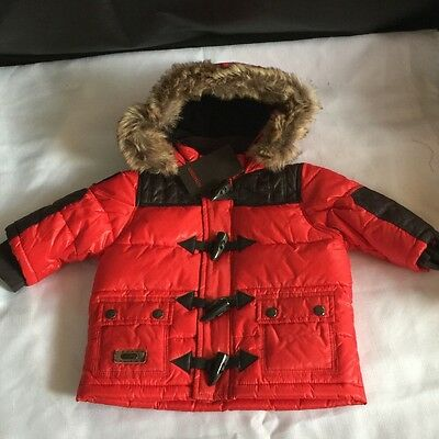 New French Design Catamini Unisex Parka 6 Months RRP $120