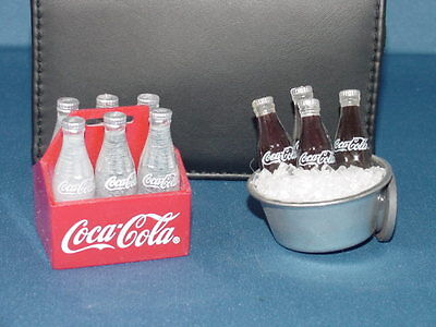 Coca Cola Refrigerator Magnets Coke On Ice And 6 Pack Of Coke Lot Of 2