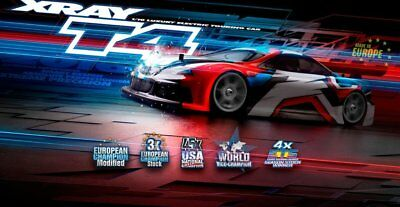 NEW Xray T4 2017 Touring Car Kit (Xy300023) from RC Hobby Land