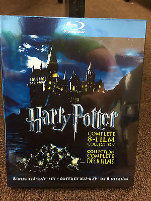NEW Harry Potter Complete 8-Film Collection (8-Disc Set BLU-RAY, 2011) Sealed