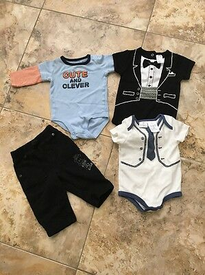 Amy Coe 6 Month Baby Clothes Boy Bundle