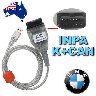 For BMW INPA/Ediabas K+D-CAN /DCAN USB Interface OBD2 EOBD Diagnostic Cable
