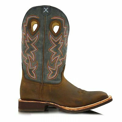 Twisted X Men's Horseman Square Toe Boots Size 8