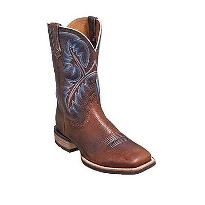 Ariat Men's Quickdraw Boots Size 12EE Brown Oiled Rowdy