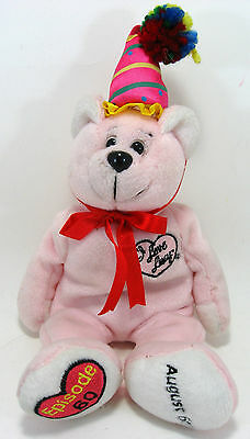 I LOVE LUCY Beanie Bear Episode 60 Lucys Last Birthday Stuffed Plush Animal