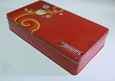 Arnott's 'Party Mix', rect., 500g. Biscuit Tin, c.2005