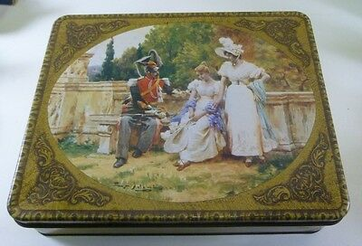 Arnott's Picturesque 'The Chaperone', 900g. Biscuit Tin, c.1981 - very rare!