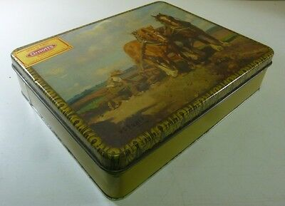 Arnott's Picturesque 'Clydesdales', 900g. Biscuit Tin, c.1981 *