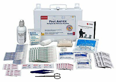 First Aid Only 25 Person First Aid Kit, Metal Case, 107 Pieces