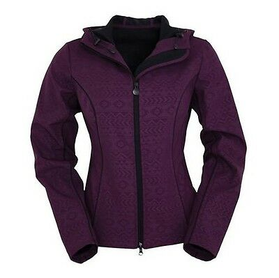 Outback Trading Co Women's Ink Softshell Dark Plum Jacket
