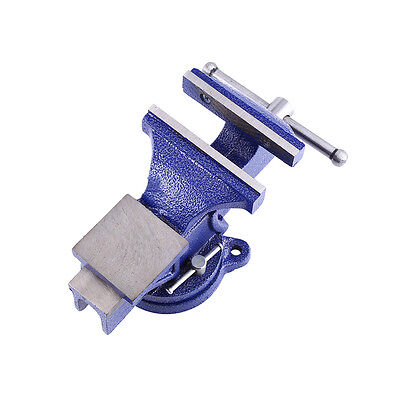 """5''/6"""" Machinist Vise Table Bench Vice Grip Clamp Heavy Duty Steel Workshop Tool"""