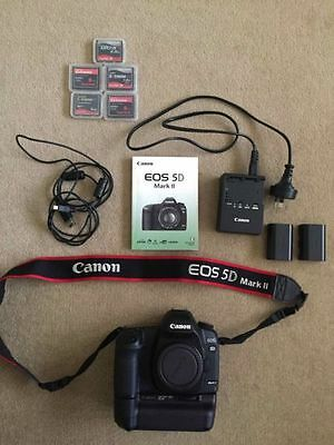 Canon 5D Mark II Camera Body with Battery Grip + MORE!
