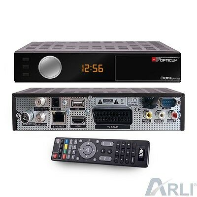 DVB-T2 H.265 Combo Plus OPTICUM HD Sloth HEVC SAT Kabel Digital TV Receiver IP