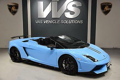 2013 Lamborghini Gallardo  LP 570-4 Performante Edizione Tecnica JUST 6000 MILES
