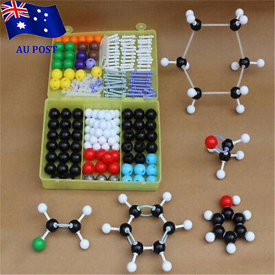 267pcs Molecular Model Set Links Kit - General And Organic Chemistry Science BO