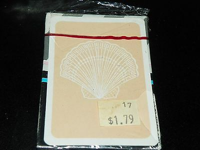 New Sealed Deck of Cape Shore SHELLS Playing Cards  - Vintage  #5