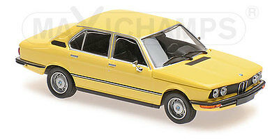 Minichamps 940023001 - BMW 520 - 1972 YELLOW  1/43