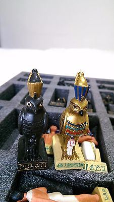 Beautifully Crafted Ancient Egyptian Chess pieces