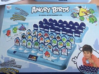 Angry Birds Guessing Game. Delivery is Free