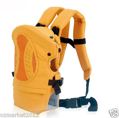 Orange Security Zero To Eighteen Months Back-pack Baby Sling All Code !@&