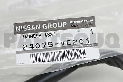 24079VC201 Genuine Nissan HARNESS ASSY ENGINE ROOM SUB 24079 VC201 genuine harness engine sub 24167 7b200 \u2022 $23 23 picclick  at pacquiaovsvargaslive.co