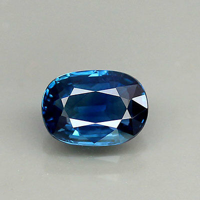 UNHEATED! 1.16ct.(VERY GOOD CUTTING) 100%NATURAL CORNFLOWER BLUE SAPPHIRE OVAL