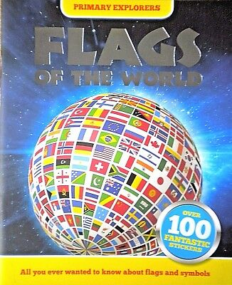Flags of the World | 100 Stickers | Children's Book | Primary Explorers | New