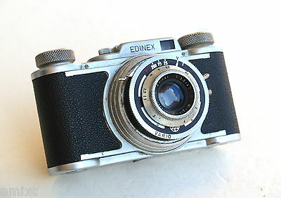 *c1953*  ● Wirgin  EDINEX II  Edinar f3.5 VARIO ● classic 35mm (fixed front)