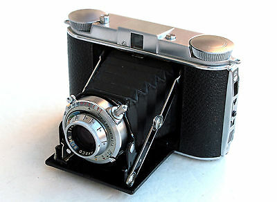 *c1949* ● ANSCO TITAN Classic luxury (f4.5) ● RARE Medium format folder 6x6
