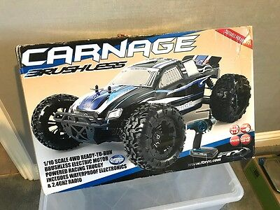 FTX Carnage Brushless 1/10 4WD Truggy FTX5543 2.4GHz Radio Control