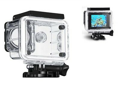 Underwater Waterproof Case Protective Cover Housing Case for Sport Action Camera