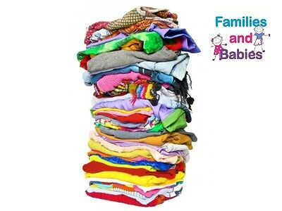 Job Lot of 100 (Used) Mixed Age and Gender Childrens Clothes. 6 yrs to 16 years